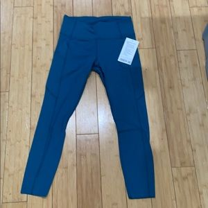 "Lululemon high rise tights 25"" inseam"